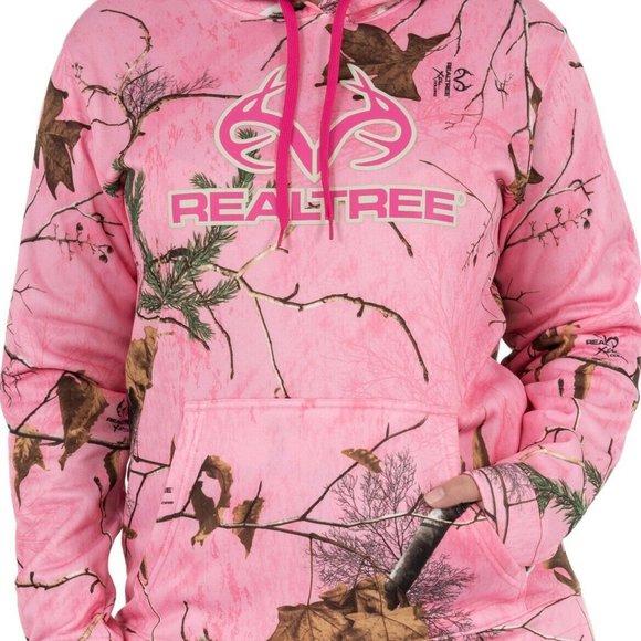 Realtree Womens Performance Camo Pullover Fleece